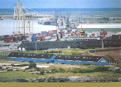 Port of Beira, Mozambique
